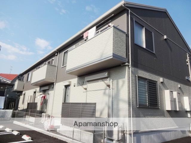 埼玉県さいたま市浦和区、北浦和駅バス6分東下木崎下車後徒歩4分の築2年 2階建の賃貸アパート