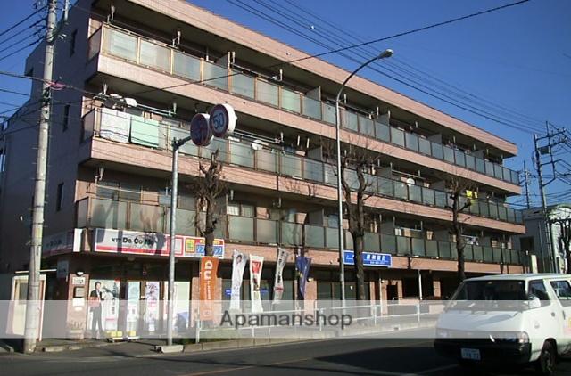 埼玉県さいたま市桜区、南与野駅徒歩10分の築25年 4階建の賃貸マンション
