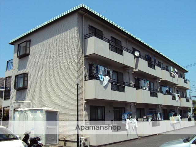 埼玉県さいたま市桜区、南与野駅徒歩10分の築24年 3階建の賃貸アパート