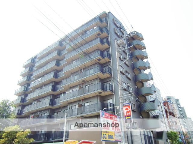 埼玉県さいたま市中央区、与野本町駅徒歩18分の築20年 9階建の賃貸マンション