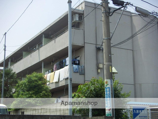 埼玉県さいたま市中央区、南与野駅徒歩17分の築29年 3階建の賃貸マンション