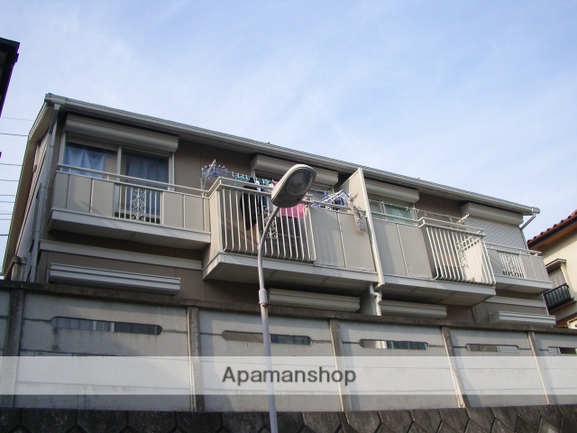 埼玉県さいたま市中央区、中浦和駅徒歩20分の築26年 2階建の賃貸アパート