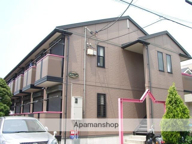 埼玉県さいたま市中央区、南与野駅徒歩3分の築13年 2階建の賃貸アパート