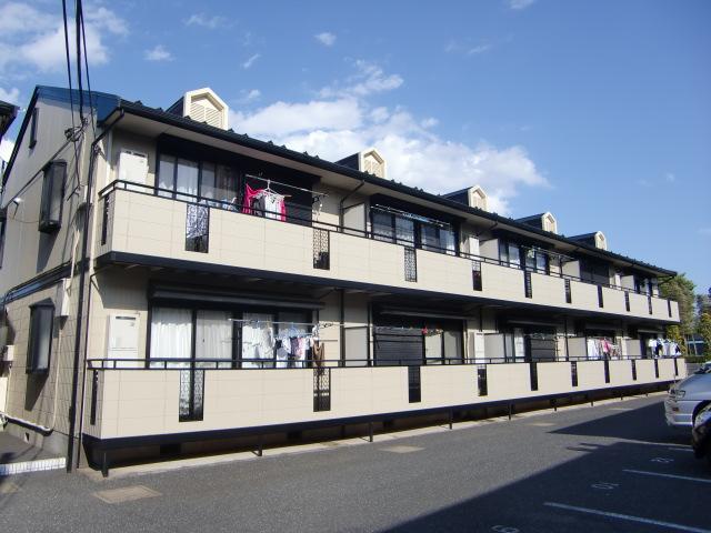 埼玉県さいたま市浦和区、さいたま新都心駅徒歩40分の築21年 2階建の賃貸アパート