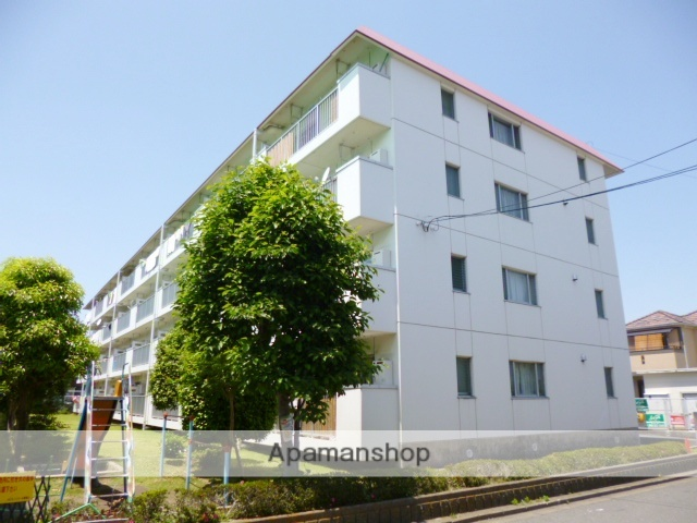 埼玉県さいたま市浦和区、さいたま新都心駅徒歩36分の築29年 4階建の賃貸マンション