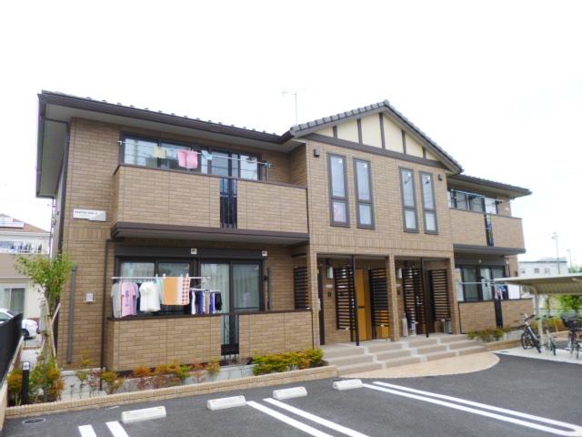埼玉県さいたま市緑区、北浦和駅バス10分市営アパート下車後徒歩4分の築3年 2階建の賃貸アパート