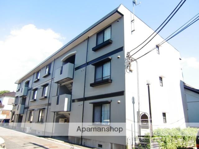 埼玉県さいたま市中央区、与野本町駅徒歩10分の築21年 3階建の賃貸アパート