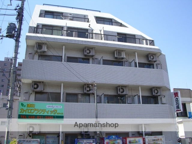 埼玉県さいたま市浦和区、浦和駅徒歩23分の築26年 5階建の賃貸マンション