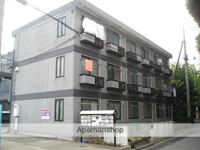 埼玉県さいたま市緑区、東浦和駅徒歩38分の築21年 3階建の賃貸アパート