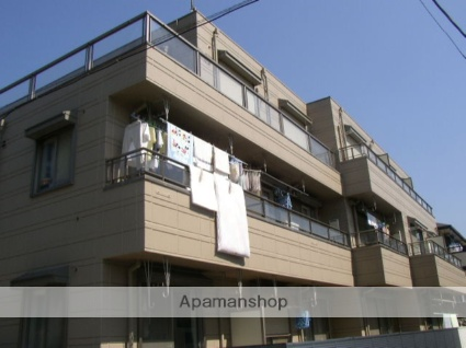 埼玉県さいたま市浦和区、北浦和駅徒歩15分の築25年 3階建の賃貸マンション