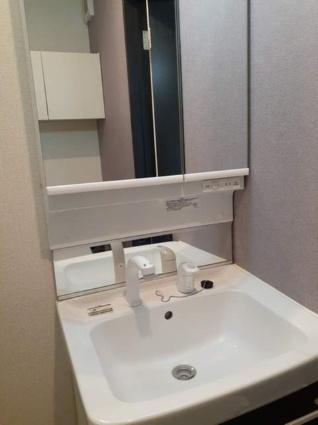 クラリスフィールド[1K/27.29m2]の洗面所