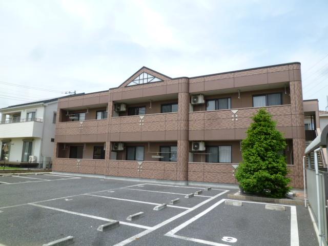 埼玉県上尾市、上尾駅東武バスバス10分小泉下車後徒歩8分の築11年 2階建の賃貸マンション