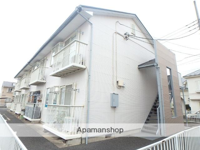 埼玉県上尾市、上尾駅バス15分集荷所下車後徒歩5分の築25年 2階建の賃貸アパート
