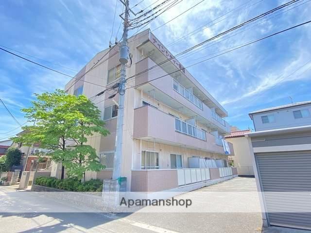 埼玉県上尾市、上尾駅徒歩38分の築23年 3階建の賃貸マンション