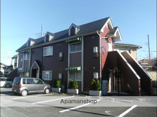 埼玉県北本市、北本駅徒歩22分の築26年 2階建の賃貸アパート