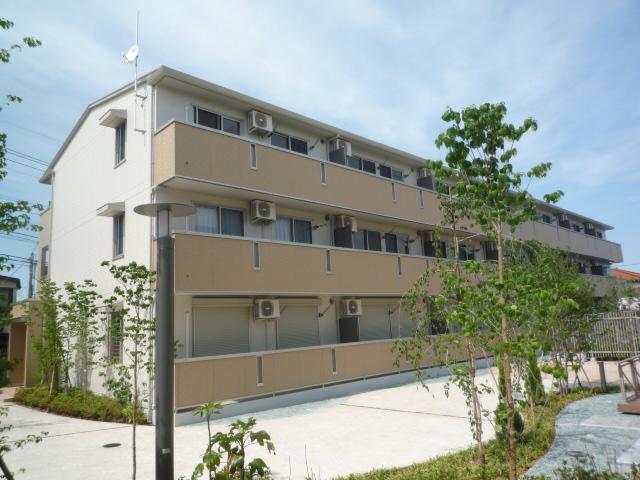 埼玉県上尾市、上尾駅徒歩18分の築7年 3階建の賃貸アパート