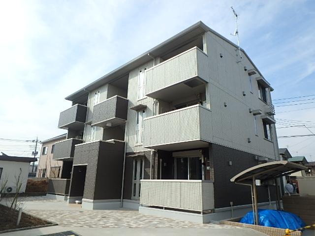 埼玉県上尾市、上尾駅徒歩24分の新築 3階建の賃貸アパート