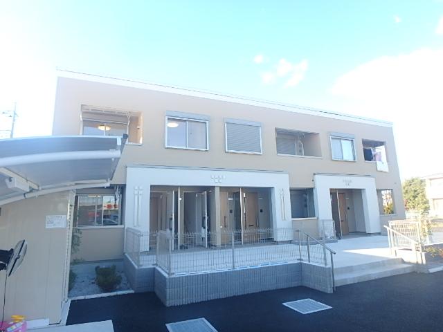 埼玉県鴻巣市、鴻巣駅徒歩25分の新築 2階建の賃貸アパート