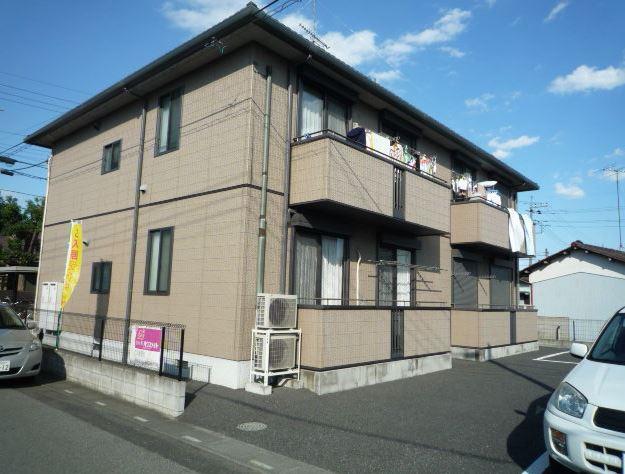 埼玉県鴻巣市、吹上駅徒歩7分の築14年 2階建の賃貸アパート