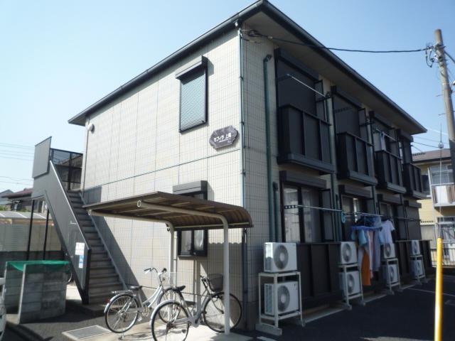 埼玉県上尾市、上尾駅徒歩12分の築17年 2階建の賃貸アパート