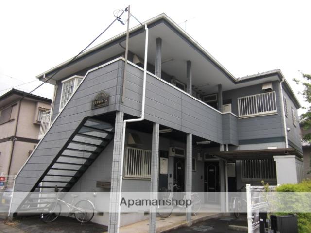 埼玉県上尾市、上尾駅徒歩13分の築21年 2階建の賃貸アパート