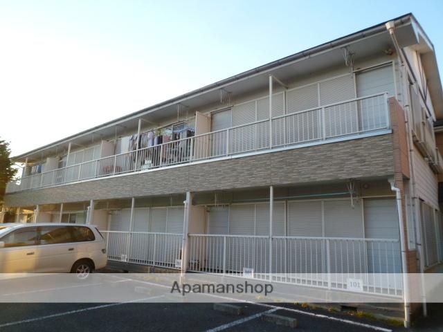 埼玉県桶川市、桶川駅徒歩19分の築25年 2階建の賃貸アパート