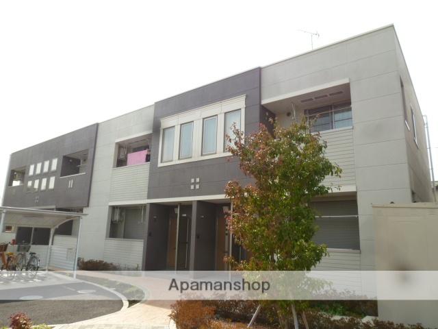 埼玉県上尾市、西大宮駅徒歩45分の築5年 2階建の賃貸アパート