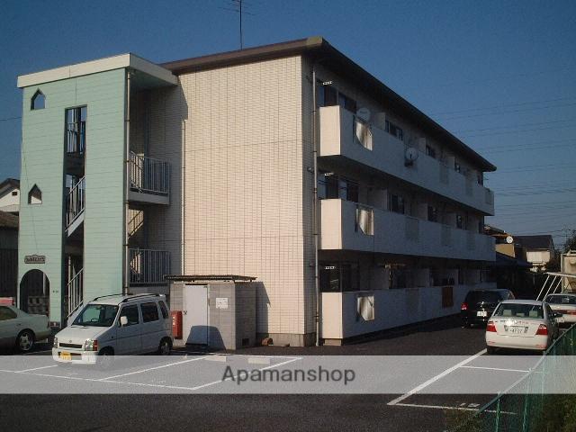 埼玉県桶川市、北上尾駅徒歩30分の築23年 3階建の賃貸マンション