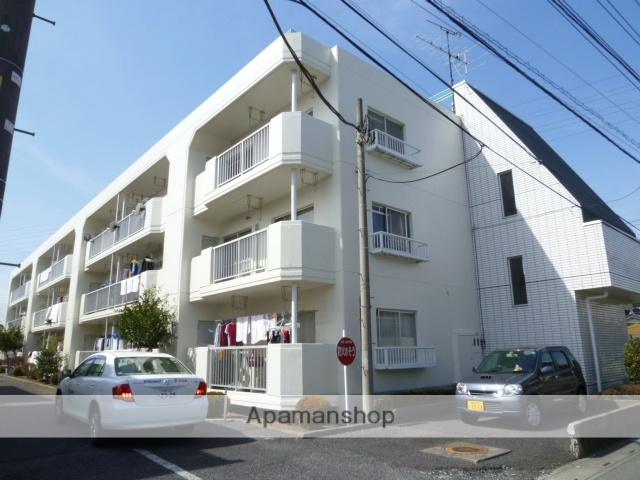埼玉県桶川市、桶川駅徒歩16分の築30年 3階建の賃貸マンション