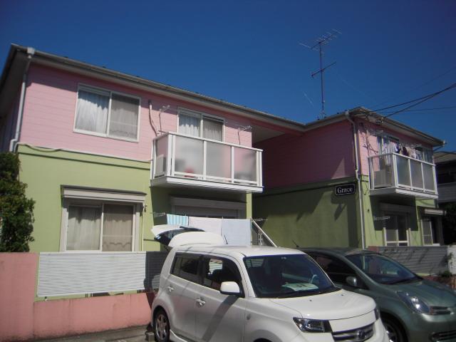 埼玉県上尾市、上尾駅徒歩22分の築24年 2階建の賃貸アパート