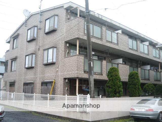 埼玉県上尾市、上尾駅徒歩10分の築27年 3階建の賃貸マンション
