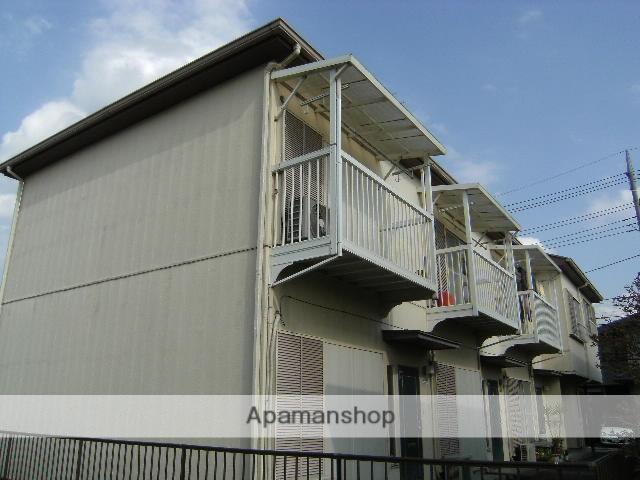埼玉県鴻巣市、北本駅徒歩10分の築25年 2階建の賃貸テラスハウス