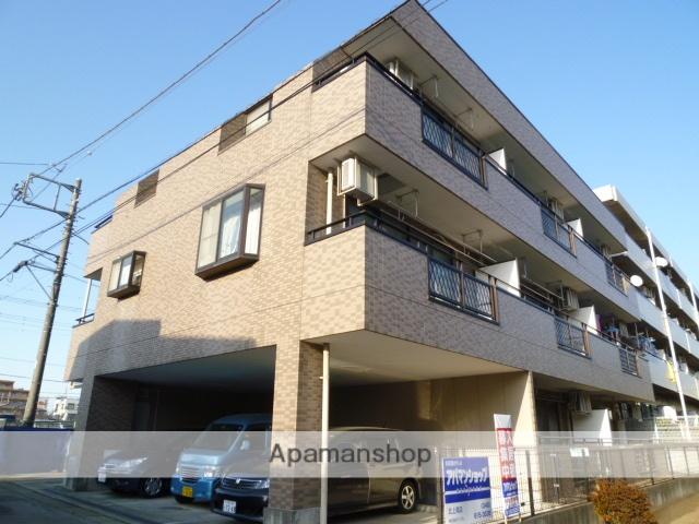 埼玉県北本市、北本駅徒歩5分の築19年 3階建の賃貸マンション