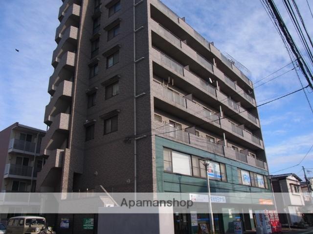 埼玉県桶川市、上尾駅徒歩62分の築21年 9階建の賃貸マンション