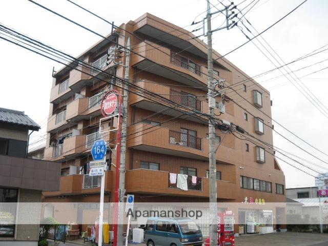 埼玉県桶川市、上尾駅徒歩56分の築29年 5階建の賃貸マンション