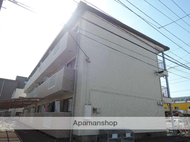 埼玉県上尾市、北上尾駅徒歩5分の築25年 3階建の賃貸アパート