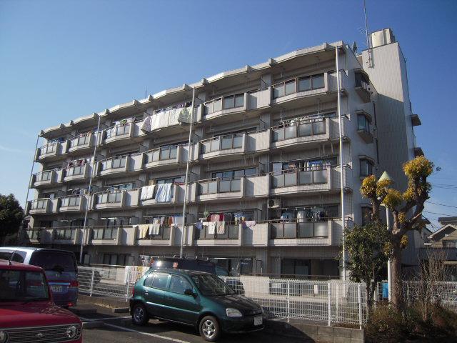 埼玉県上尾市、北上尾駅徒歩8分の築27年 5階建の賃貸マンション