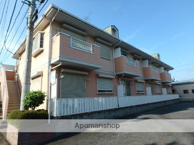 埼玉県上尾市、上尾駅徒歩26分の築23年 2階建の賃貸アパート