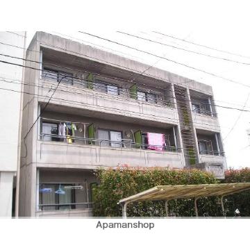 埼玉県上尾市、上尾駅徒歩5分の築30年 3階建の賃貸マンション