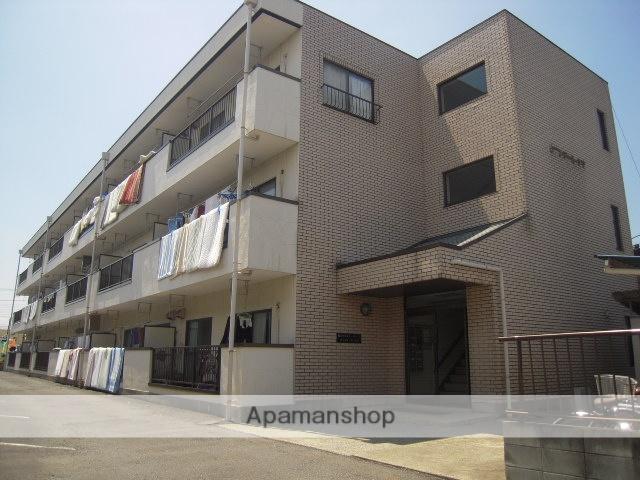 埼玉県桶川市、上尾駅徒歩56分の築25年 3階建の賃貸マンション