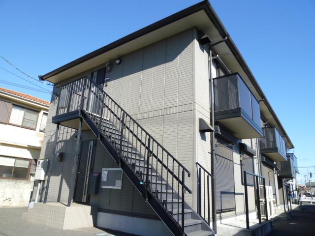 埼玉県桶川市、上尾駅徒歩31分の築13年 2階建の賃貸アパート