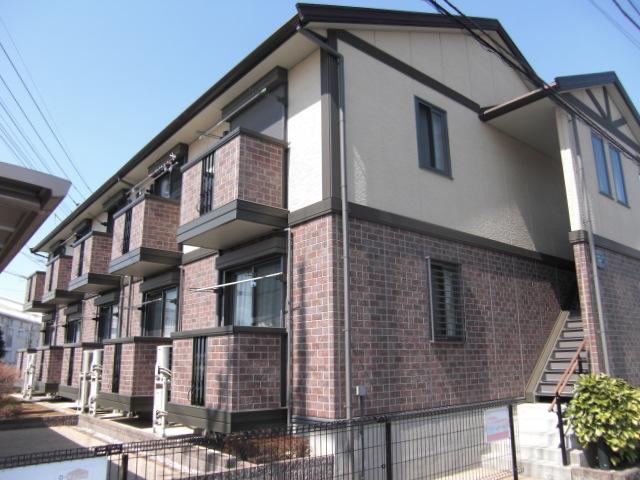 埼玉県北足立郡伊奈町、志久駅徒歩17分の築12年 2階建の賃貸アパート