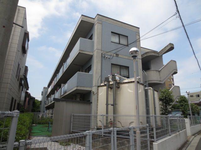 埼玉県さいたま市南区、武蔵浦和駅徒歩14分の築22年 3階建の賃貸マンション
