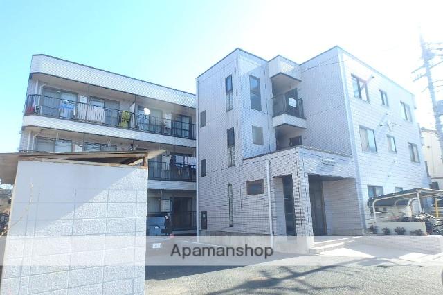 埼玉県さいたま市桜区、中浦和駅徒歩24分の築23年 3階建の賃貸マンション