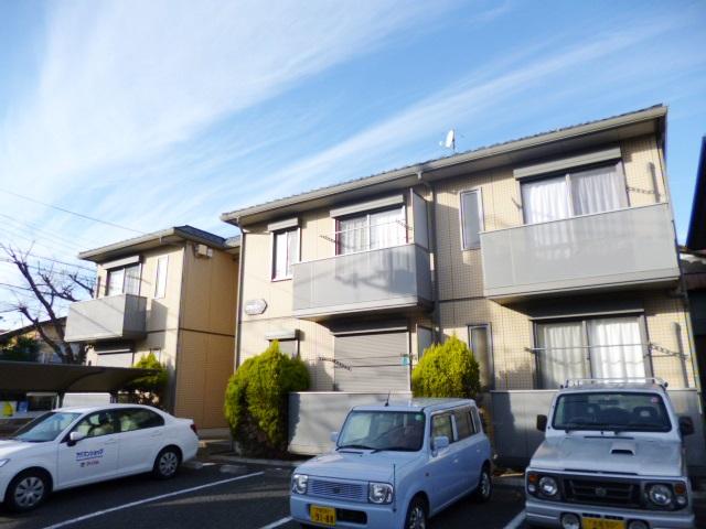 埼玉県さいたま市南区、武蔵浦和駅徒歩10分の築14年 2階建の賃貸アパート