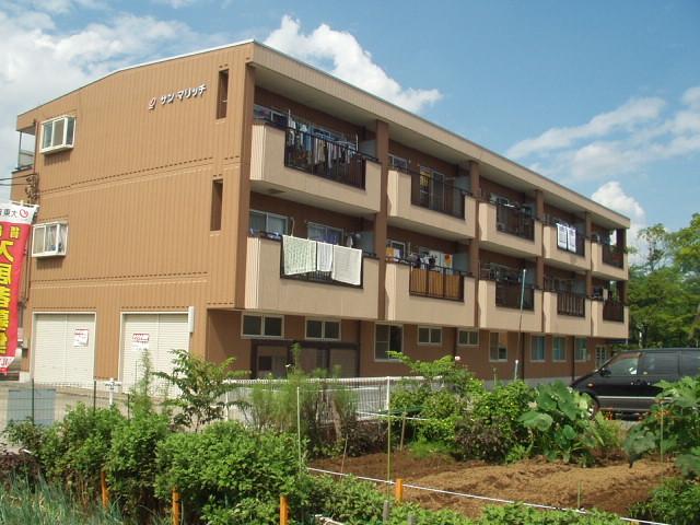 埼玉県さいたま市桜区、中浦和駅徒歩26分の築24年 3階建の賃貸マンション