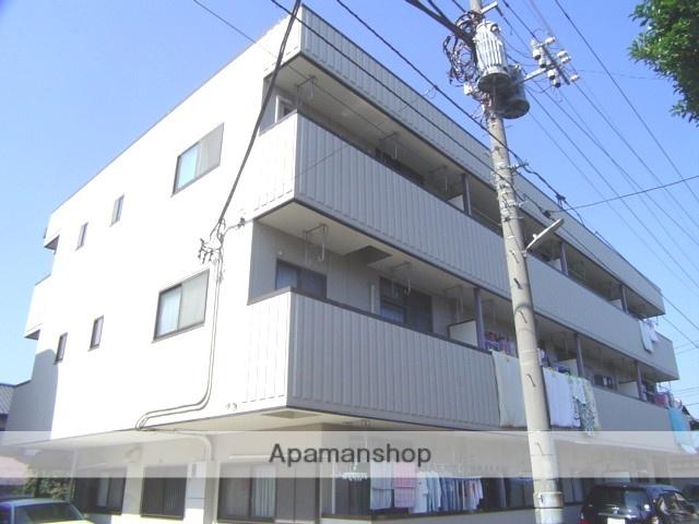 埼玉県さいたま市南区、武蔵浦和駅徒歩11分の築23年 3階建の賃貸マンション