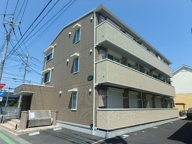 埼玉県さいたま市北区、日進駅徒歩27分の築1年 3階建の賃貸アパート