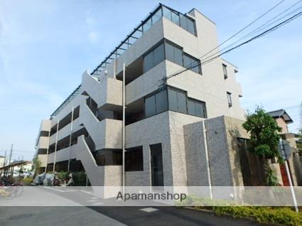 埼玉県さいたま市北区、日進駅徒歩13分の築26年 4階建の賃貸マンション