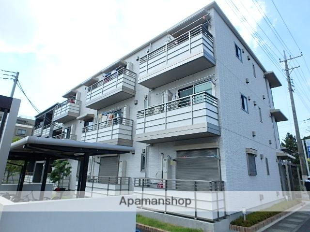 埼玉県さいたま市北区、宮原駅徒歩6分の築4年 3階建の賃貸マンション